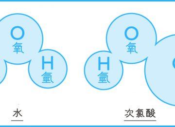 次氯酸水應只為環境清潔使用,避免使用在人體